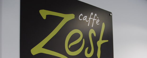 Zest Caffe Printed Board
