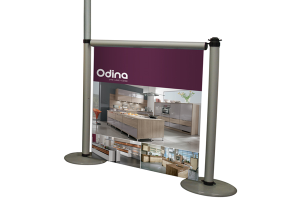 Exhibition Stand Measurements : Aero modular display stands roller banners